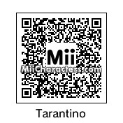 QR Code for Quentin Tarantino by Mario
