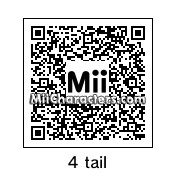 QR Code for Naruto Uzumaki (4 Tail Mode) by samuel paul tr