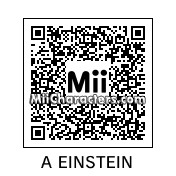 QR Code for Albert Einstein by bzm