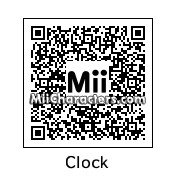 QR Code for Clock by bzm