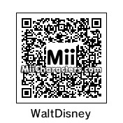 QR Code for Walt Disney by bzm