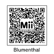 QR Code for Heston Blumenthal by celery