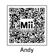 QR Code for Andy Tatnall by Andy Anonymous