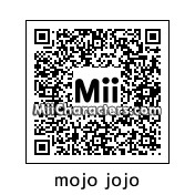 QR Code for Mojo Jojo by miiwinner