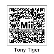 QR Code for Tony The Tiger by jabari