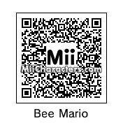 QR Code for Bee Mario by GodOfMii