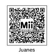 QR Code for Juanes by robbieraeful
