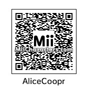 QR Code for Alice Cooper by Rattlehead