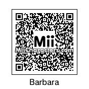 QR Code for Barbara by robbieraeful