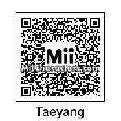 QR Code for Taeyang by robbieraeful