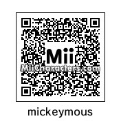 QR Code for Mickey Mouse by Auturmn