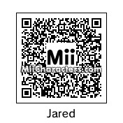 QR Code for Jared Leto by Sarahichigo