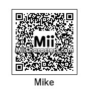 QR Code for Mike by robbieraeful