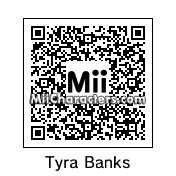 QR Code for Tyra Banks by anna