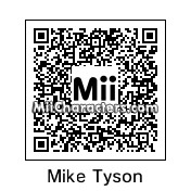QR Code for Mike Tyson by Richard