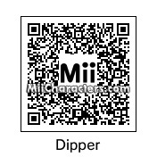 QR Code for Dipper Pines by robbieraeful