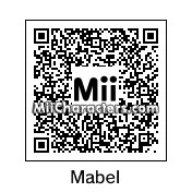 QR Code for Mabel Pines by robbieraeful