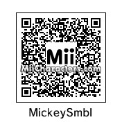 QR Code for Mickey Mouse Symbol by epicgirl234