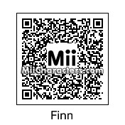 QR Code for Finn Hudson by diva1994
