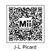 QR Code for Captain Jean-Luc Picard by celery