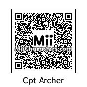 QR Code for Captain Jonathan Archer by celery