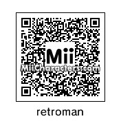 QR Code for Retroman by 3ds