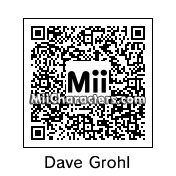 QR Code for Dave Grohl by vesper