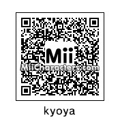 QR Code for Kyoya by 3ds