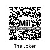 QR Code for The Joker by quentin