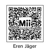 QR Code for Eren Jaeger by Rocarina