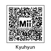 QR Code for Cho Kyuhyun by Tandristyn