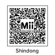 QR Code for Shin Donghee by Tandristyn