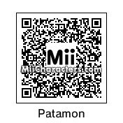 QR Code for Patamon by matthew123