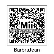 QR Code for Barbra Jean by Shannon