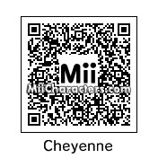 QR Code for Cheyenne by Shannon