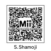 QR Code for Number 63: Shamoji Soldier by poke