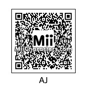 QR Code for AJ Lee by stevieboy