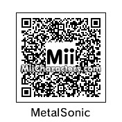 QR Code for Metal Sonic by J1N2G
