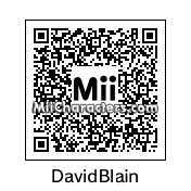 QR Code for David Blaine by Tocci