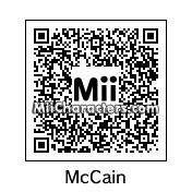 QR Code for John McCain by Tocci