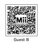 QR Code for Guest B by robbieraeful
