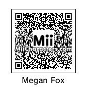 QR Code for Megan Fox by celery