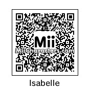 QR Code for Isabelle by J1N2G