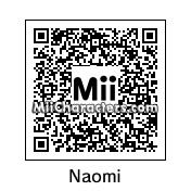 QR Code for Naomi Campbell by Ajay