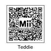 QR Code for Teddie by Eben Frostey