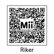 QR Code for Cmdr. William Riker by Andy Anonymous
