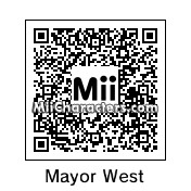 QR Code for Mayor Adam West by TerBear