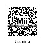 QR Code for Princess Jasmine by Oddray