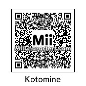 QR Code for Kotomine Kirei by johnrevantitor
