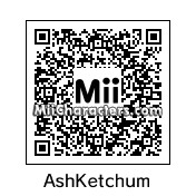 QR Code for Ash Ketchum by J1N2G